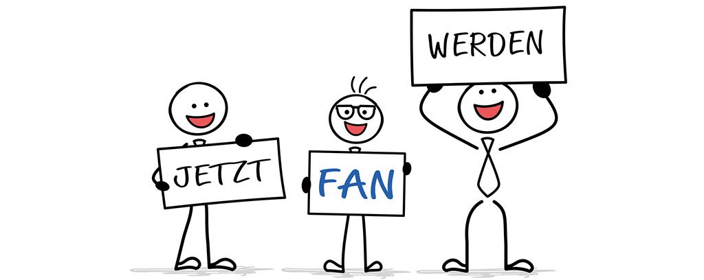 B+M Fan werden