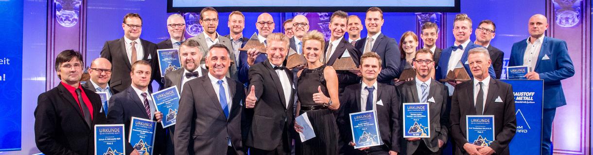 Alle Gewinner: B+M AWARD 2017