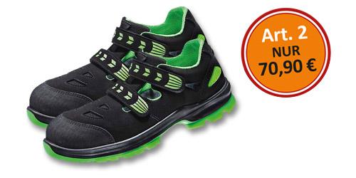 ATLAS<sup>®</sup> Die Sicherheitssandalen SL 265 XP Green 2.0