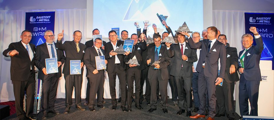 B+M AWARD - Sieger 2015