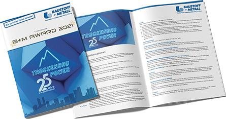 B+M AWARD 2021 Broschüre
