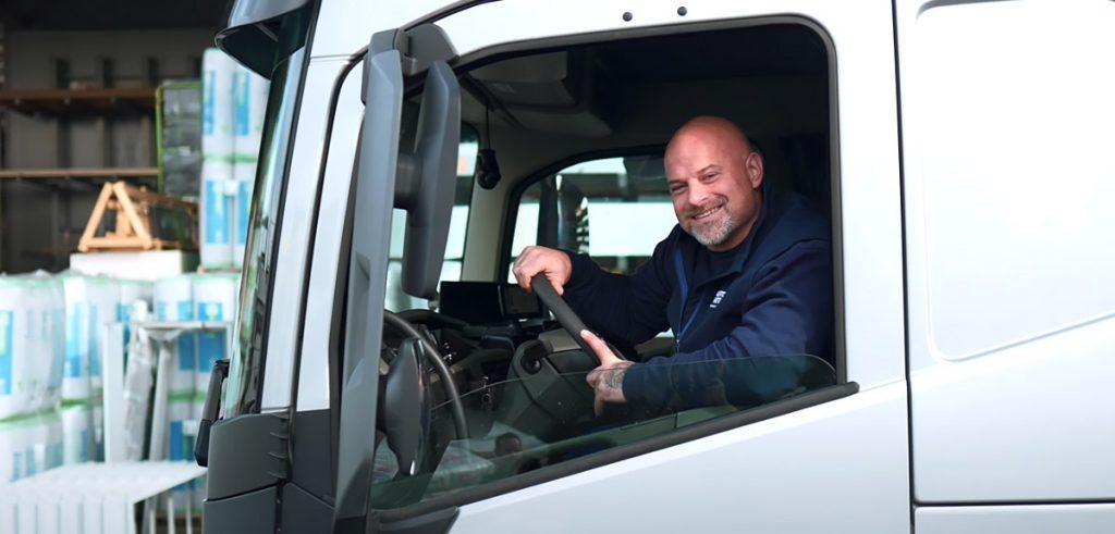 Auslieferung, LKW-Fahrer