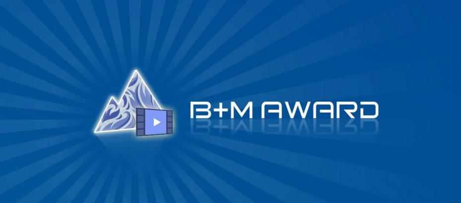 B+M AWARD 2013 Filme