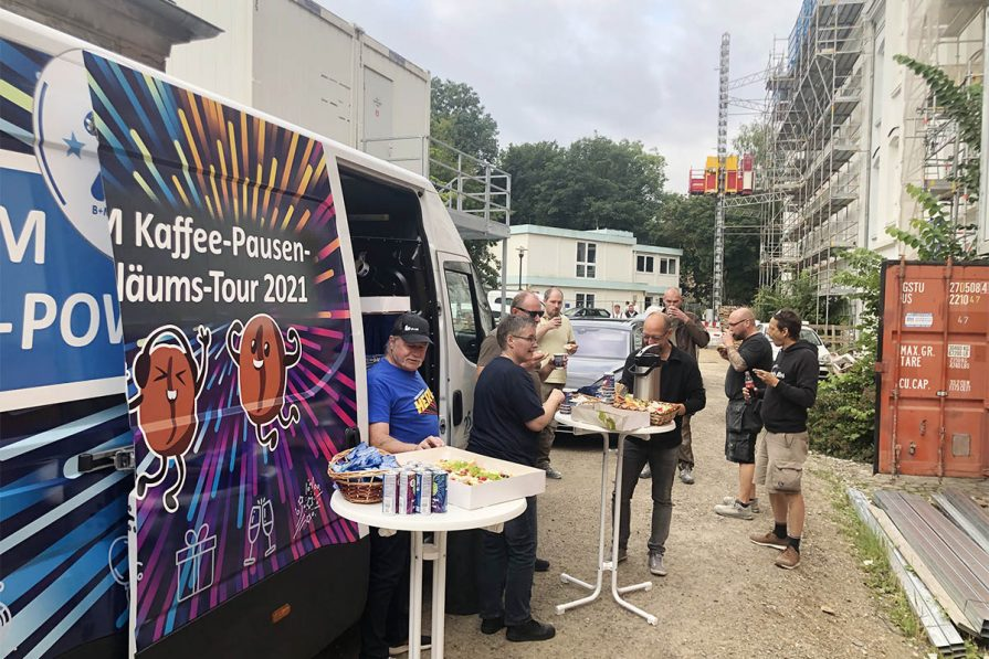 B+M Kaffee-Pausen Tour