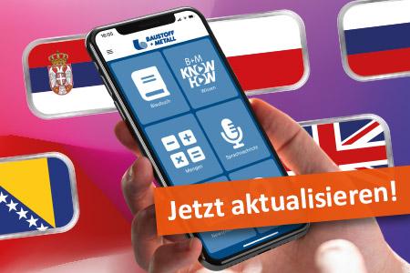 Neu: B+M App